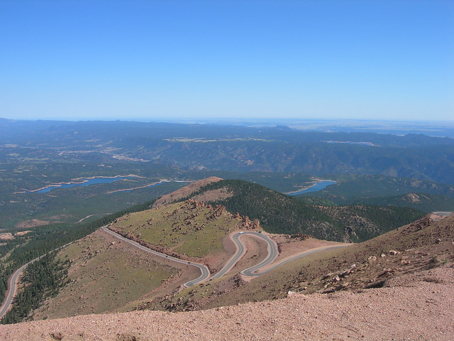 The Road Up Pike's Peak