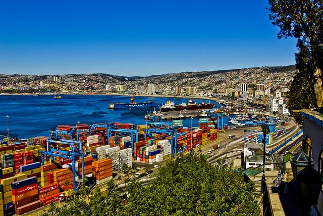 Valparaiso bay