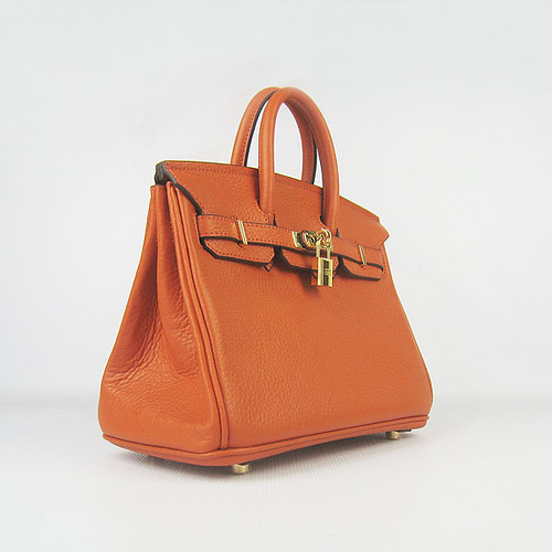 Hermes 6068 25cm bag orange