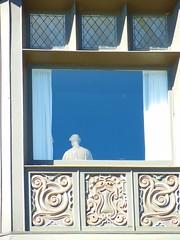 The ghost in the window, Yaddo