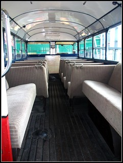 LGOC AEC Regal T31 interior. London Bus Museum 18/09/11.