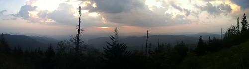sunset panorama blueridgeparkway