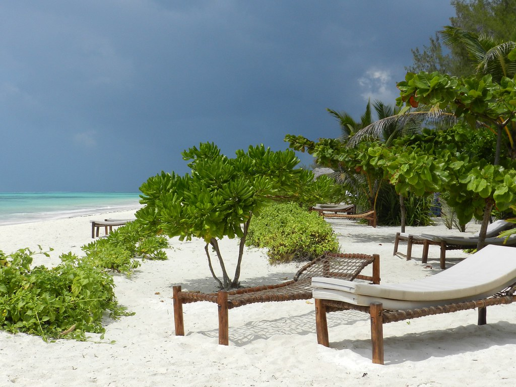 пляж Pwani Mchangani
