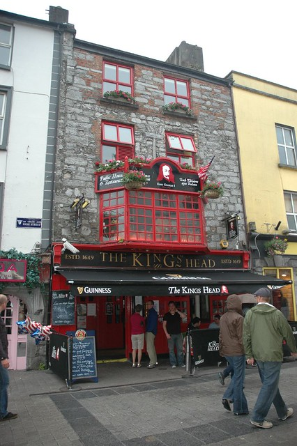 The King's Head Pub, Galway Ireland
