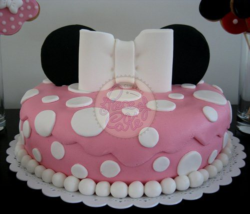 Torta de Minnie Mouse! | Flickr - Photo Sharing!