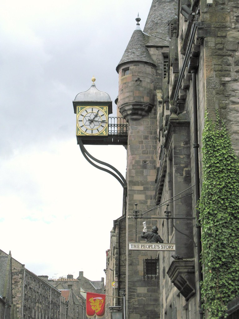 The Cannongate Tolbooth, Royal Mile, Edinburgh. | Emma Lamb