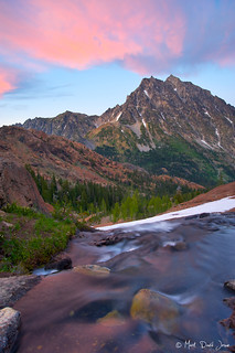 Sunset from Ingalls Pass