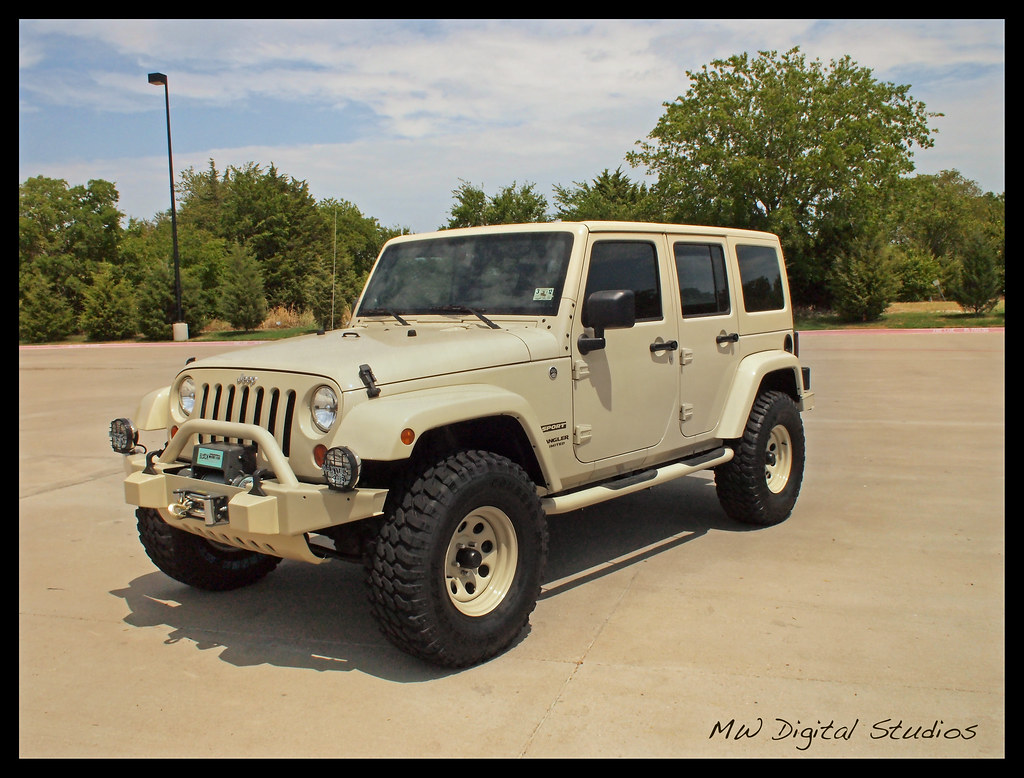 sahara tan jeep wrangler unlimited - a photo on flickriver