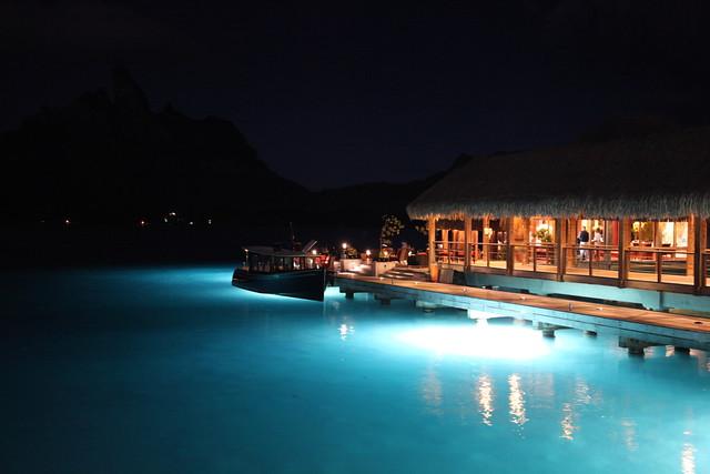 The St. Regis Bora Bora's Lagoon Restaurant