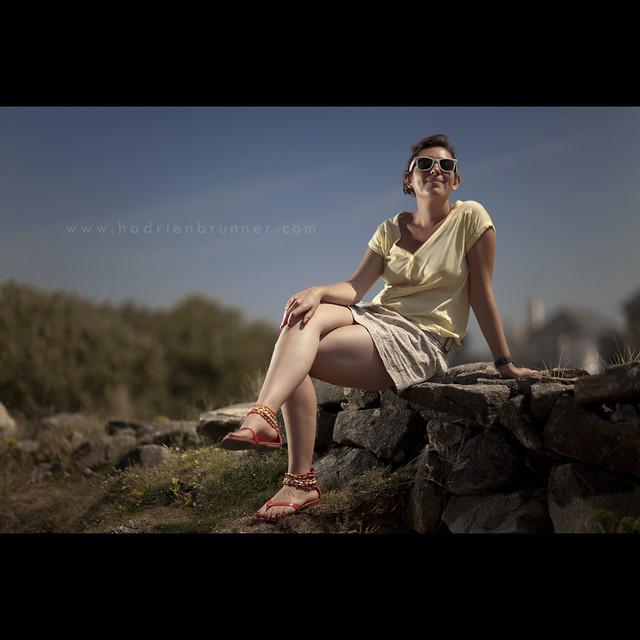 Strobist portrait | Ca...
