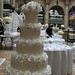 Tom Cruise and Katie Holmes' pearl encrusted wedding cake