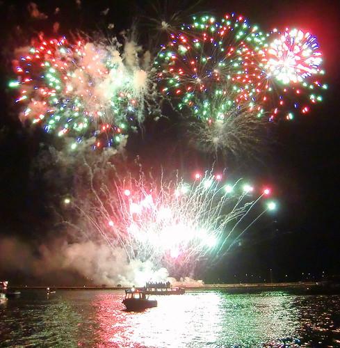 British Firework Championships Plymouth 2011