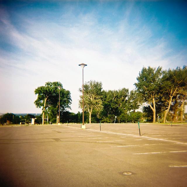 Holga et le parking