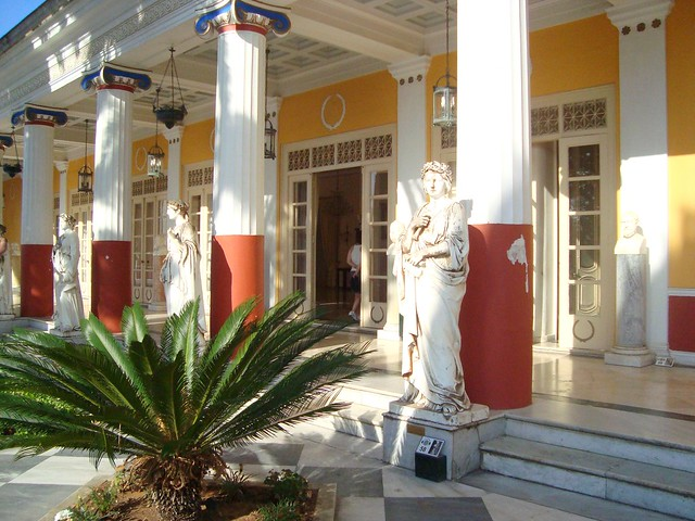 The Achilleion Palace, Corfu