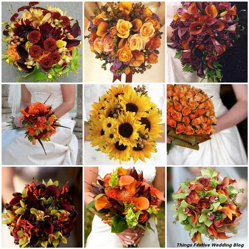 fall bridal bouquets from simple to elegant things festive weddings events. Black Bedroom Furniture Sets. Home Design Ideas