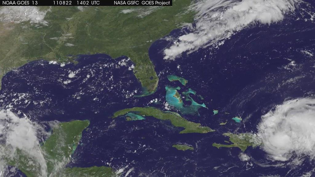 Hurricane Irene [hd video]