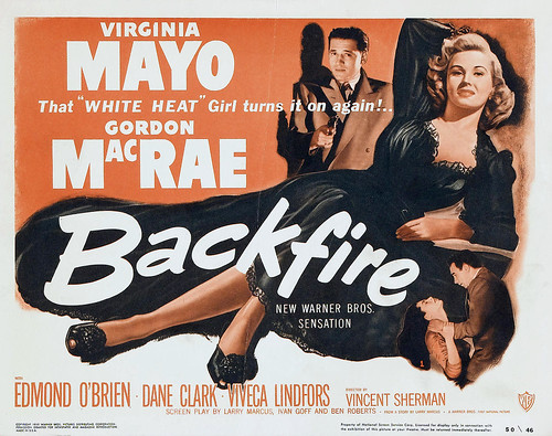 Film Noir ''Backfire'' 1950 by Movie-Fan