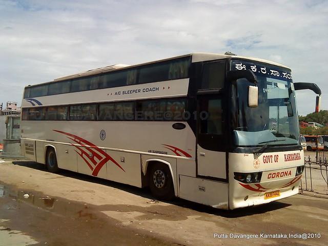 KSRTC sleeper bus,B'lore. | Flickr - Photo Sharing!