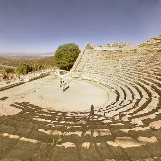 Segesta, the theater (Sicilia)