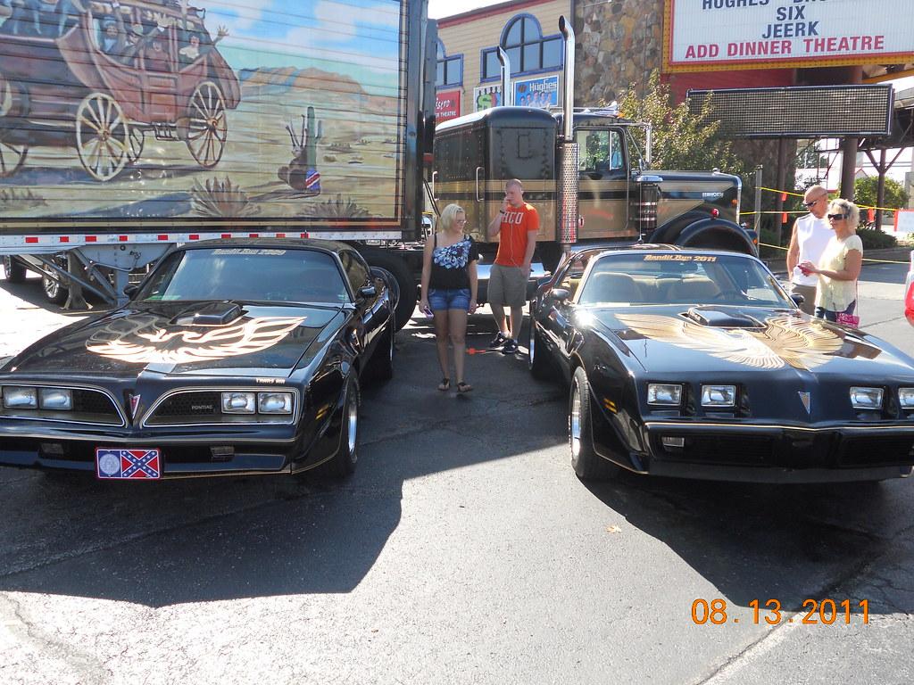 Smokey and the bandit cars