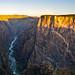 Sunrise on the Black Canyon by jaovandelagemaat