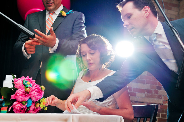 registry signings can look dramatic with the right light