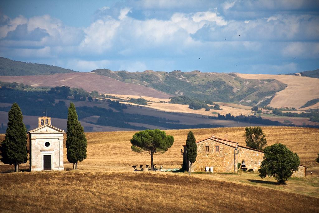- Da qualche parte in Toscana XIV- Capella di Vitaleta.