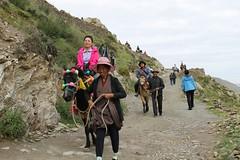Tourists at Yumbulagang