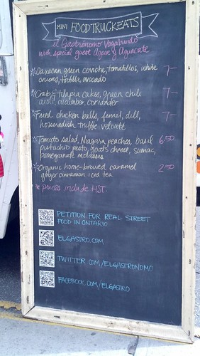 #foodtruckeats lunch from @elgastronomo menu!
