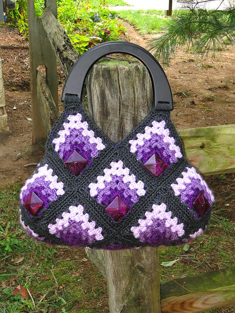 Handmade Crochet Bags : OOAK Stylish Handmade Crochet Bag Flickr - Photo Sharing!
