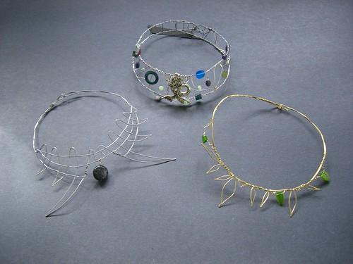 Trio of necklaces