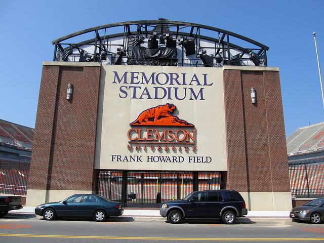 Memorial Stadium, Clemson University Tigers, Clemson, Sout ...