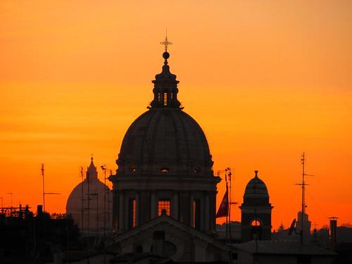 Atardecer en Roma by Miradas Compartidas