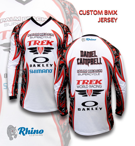 custom race jersey for dan at palm beach supercycle rhino clothing custom sportswear. Black Bedroom Furniture Sets. Home Design Ideas
