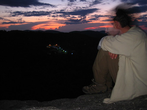 sunset mountains geotagged us nc highlands unitedstates vista appalachianmountains appalachians wnc westernnorthcarolina sunsetrock highlandsplateau