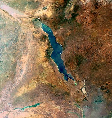 Lake Malawi satellite