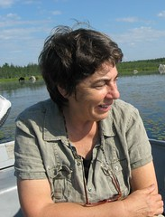 Roxanne Quimby on Millinocket Lake