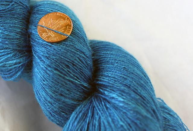 Gale's Art Tussah Silk Handspun