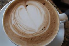 taymar's coffee art.