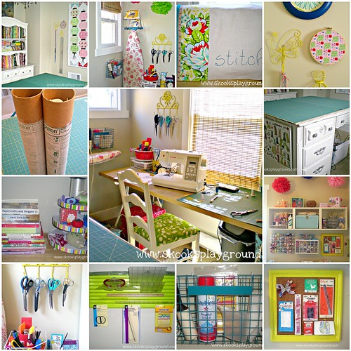 Home decorating pictures diy sewing room organization for Craft and sewing room ideas