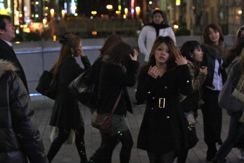Street photos from Osaka