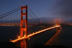 Romantic Golden Gate