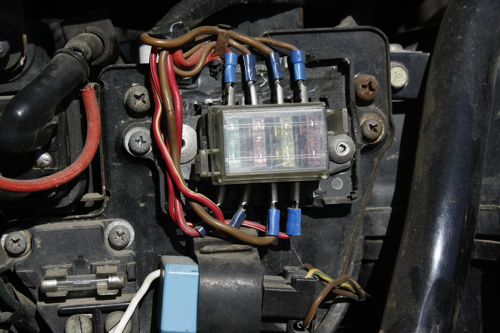 Fuse Box Motorcycle Atv Marine Scooter Custom Fuse Box