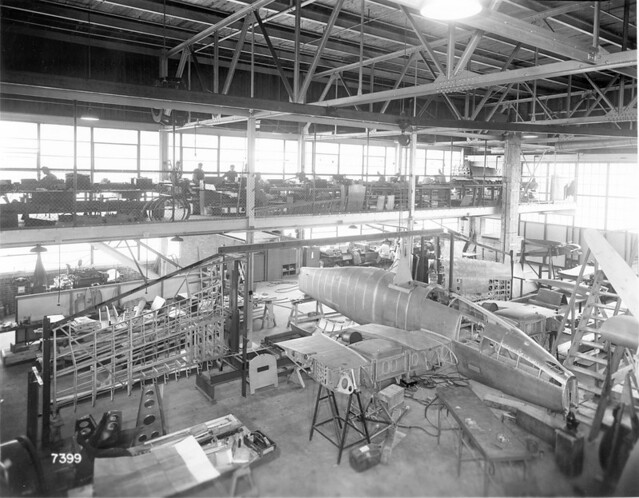 Grumman XP-50 construction