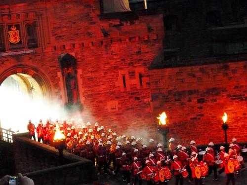 Royal Edinburgh Military Tattoo, Edinburg Castle, Scotland