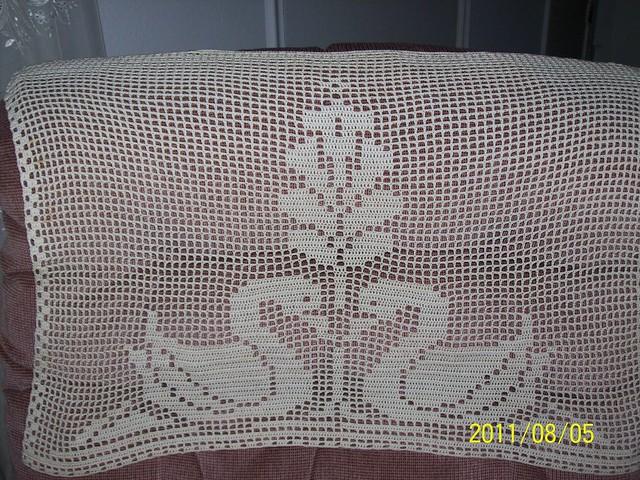 Filet Crochet Bedspread Patterns Crochet And Knitting Patterns