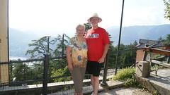 Debbie & Paul at Top of Incline Rail at Lake Como