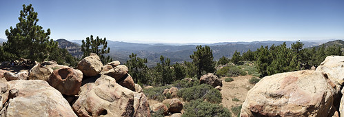 Reyes Peak Panorama