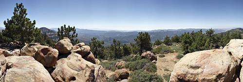 Reyes Peak Panorama