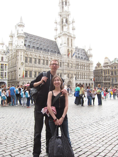 In the main square in Brussels